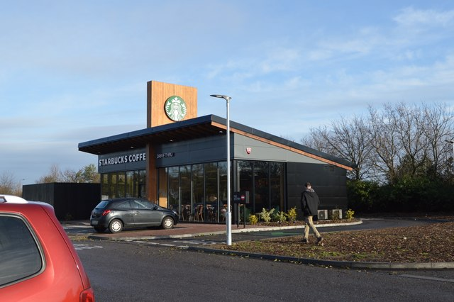 Starbucks, Birchanger Green Services