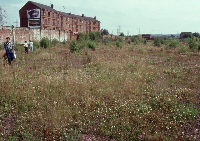 Site of the former Dalmarnock Power Station