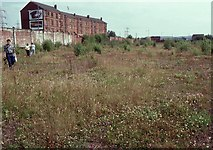 NS6162 : Site of the former Dalmarnock Power Station by Richard Sutcliffe