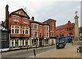 SD7109 : The Swan, Churchgate by Gerald England