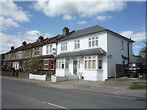 TQ2495 : Houses on May's Lane, Barnet by JThomas