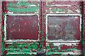 TQ7825 : Peeling Paintwork, Bodiam, East Sussex by Christine Matthews