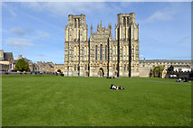 ST5545 : Wells Cathedral by Robin Webster