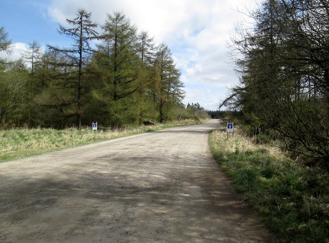Brown  Howe  Road.  No  longer  a  through  road