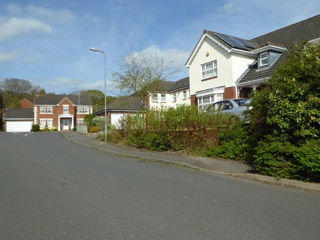 Houses on Cathorse Lane, Redditch