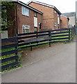 SO6303 : Roadside bench, Albert Street, Lydney by Jaggery