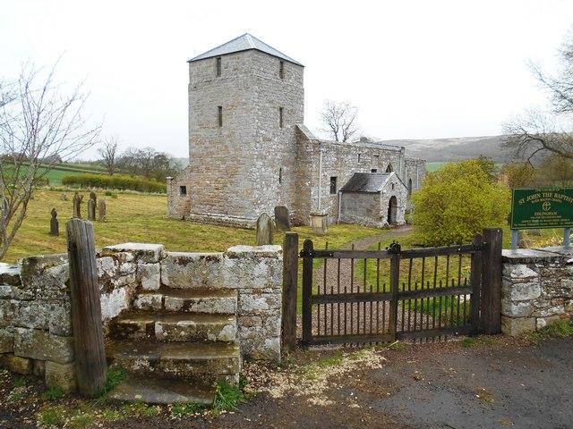 The 11th Century Church of St John the Baptist, Edlingham