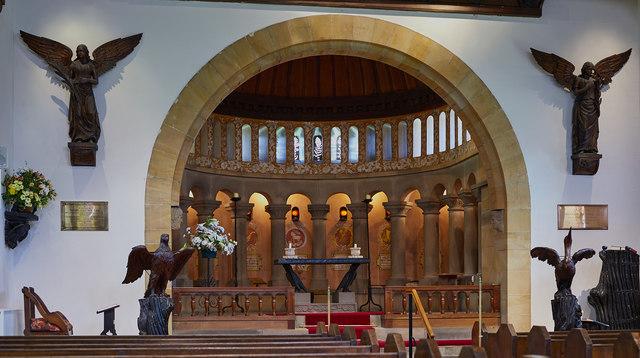 St Mary's Church, Wreay - April 2017 (4)