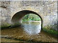 SP8982 : The River Ise in Geddington by Richard Humphrey