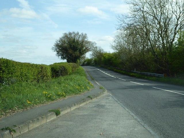 The B4096 Hewell Lane