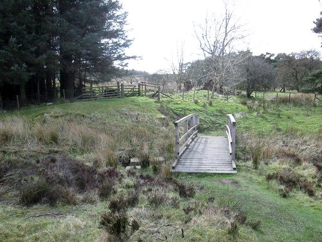 The  bridge  over  Blawath  Beck  at  Wardle  Green