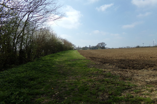 Lovers Lane Footpath to Mill Hill