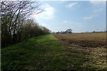 TM3569 : Lovers Lane Footpath to Mill Hill by Geographer