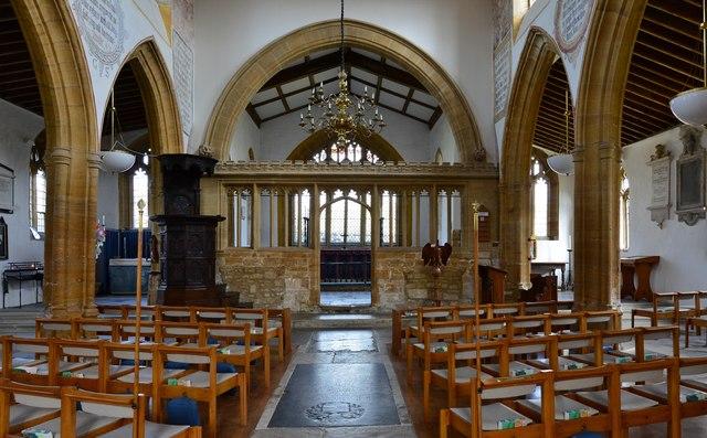 Cerne Abbas, St. Mary's Church: Mid c15th nave