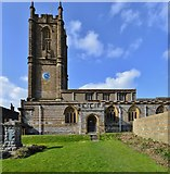 ST6601 : Cerne Abbas, St. Mary's Church by Michael Garlick
