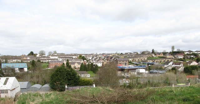The eastern suburbs of Dromore