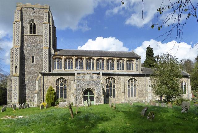 Wetheringsett church