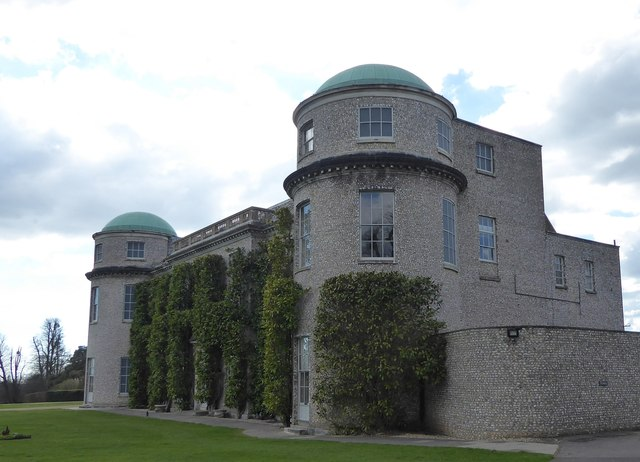 Goodwood House, eastern façade
