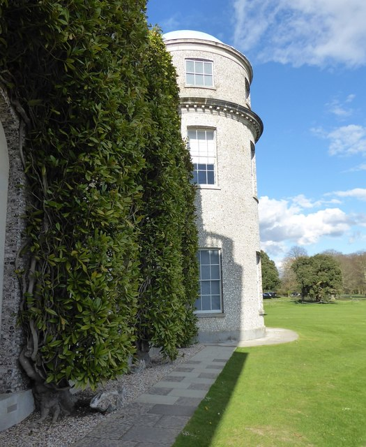 Goodwood House - A round tower