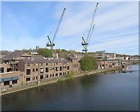 NZ2742 : Durham: riverside redevelopment by John Sutton