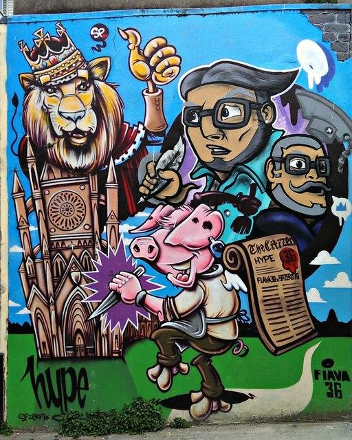 Street Art, St John's Lane, Gloucester