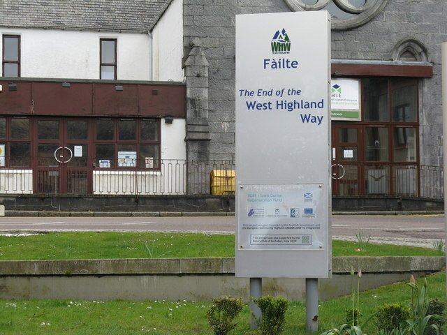 The End of the West Highland Way