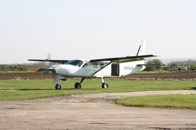 Cessna 208-B Grand Caravan at Skydive    © JThomas
