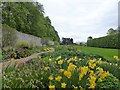 SP9081 : Boughton House - In the walled garden by Richard Humphrey