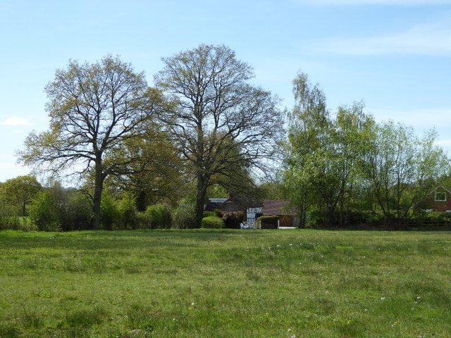 Trees and cottage on Broadmoor Common