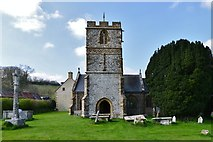 ST5906 : Melbury Bubb: St. Mary's Church by Michael Garlick