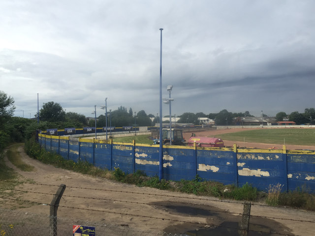 Perry Barr Greyhound Racing Stadium, west side