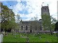 ST3959 : St Andrew's Church, Banwell by PAUL FARMER