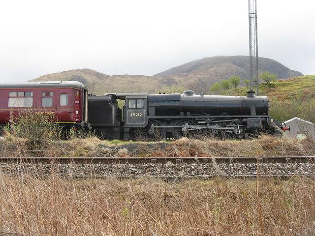 45212, a 'Black Five' at Inverlochy