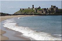 SC2484 : Peel Beach and Castle by Stephen McKay