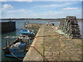 NU2328 : Coastal Northumberland : Sweet Promise At Beadnell Harbour by Richard West