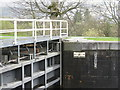 NN1176 : Lock detail on the Caledonian Canal by M J Richardson
