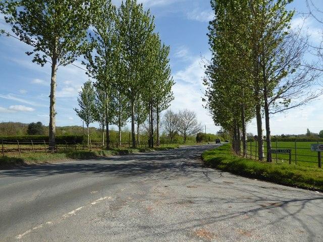 The A417 at Bodenham