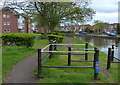 SO9691 : Towpath along the Birmingham Canal in Tipton by Mat Fascione