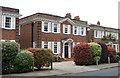 TQ5290 : Neo-Georgian houses, Heath Drive, Gidea Park by Julian Osley