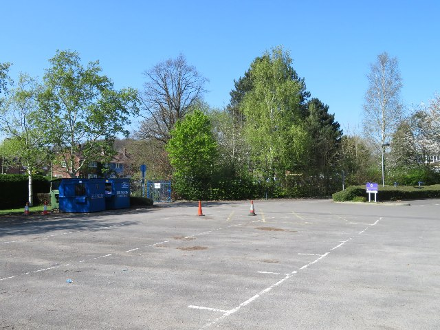 Parking at Fernhill School
