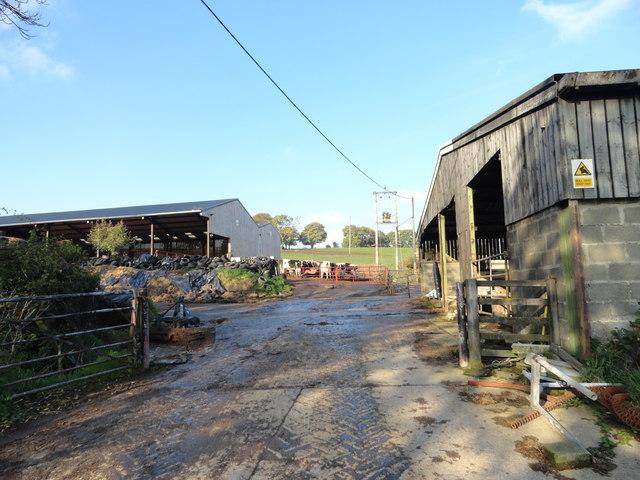 Farmyard at Malton House Farm