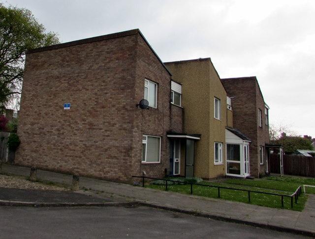 Oak Road houses, Rogerstone, Newport