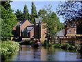 SK0517 : New canalside housing near Brereton, Staffordshire by Roger  Kidd