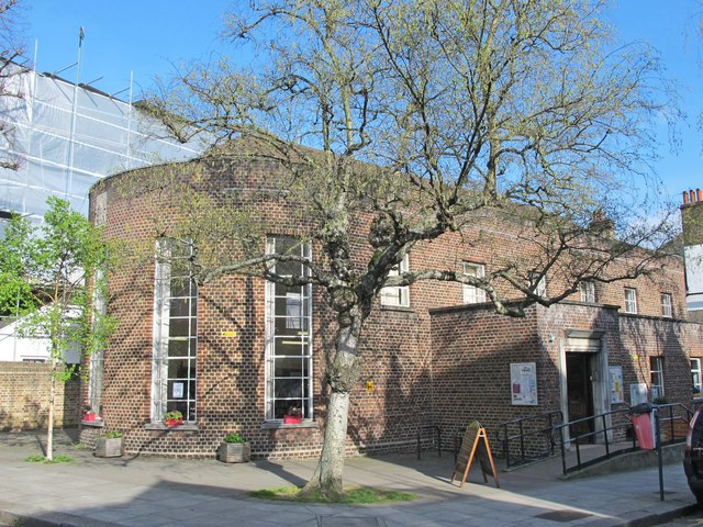 Belsize Community Library, Antrim Road / Antrim Grove, NW3