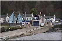 NT1378 : Hawes Pier, Queensferry, from the sea by Mike Pennington