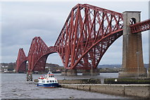 NT1378 : The Maid of the Forth at Hawes Pier, Queensferry by Mike Pennington