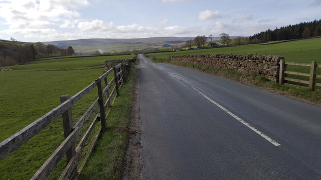 Road between Rookhope and Eastgate