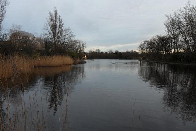Lake, Exhibition Park
