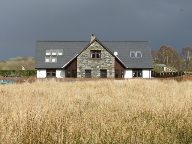 Rushes, house, sky