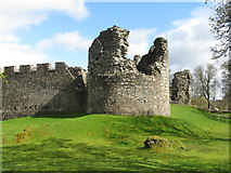 NN1275 : Inverlochy Castle by M J Richardson